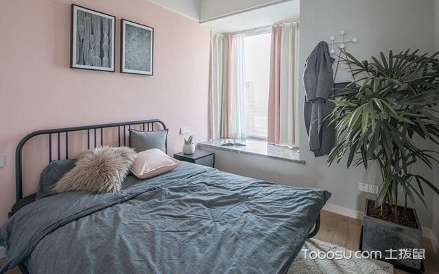 98平北欧风格两室两厅设计—次卧