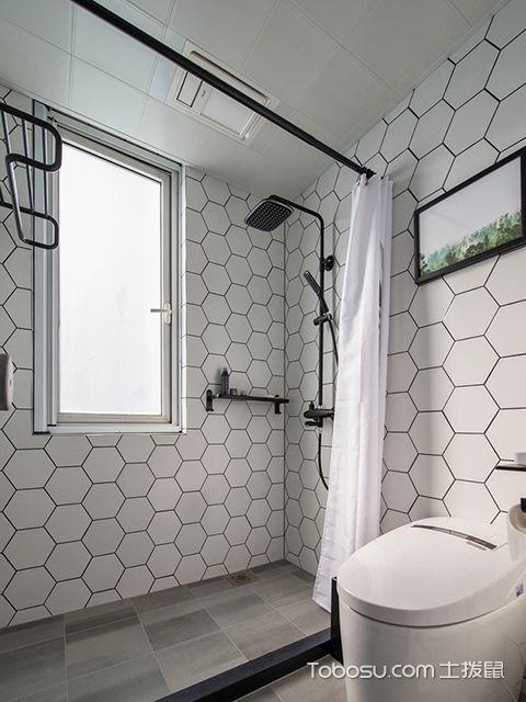 98平北欧风格两室两厅设计—卫生间