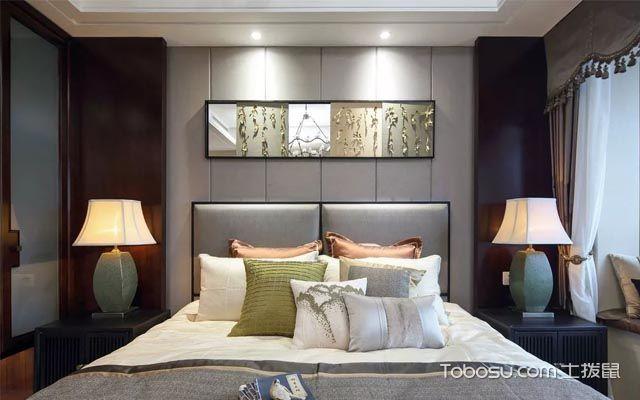 126平米三房新中式u乐娱乐平台案例图片