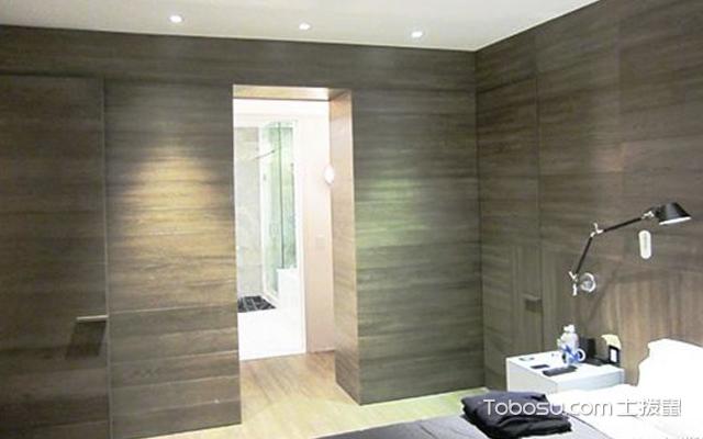 厕所隐形门效果图 案例