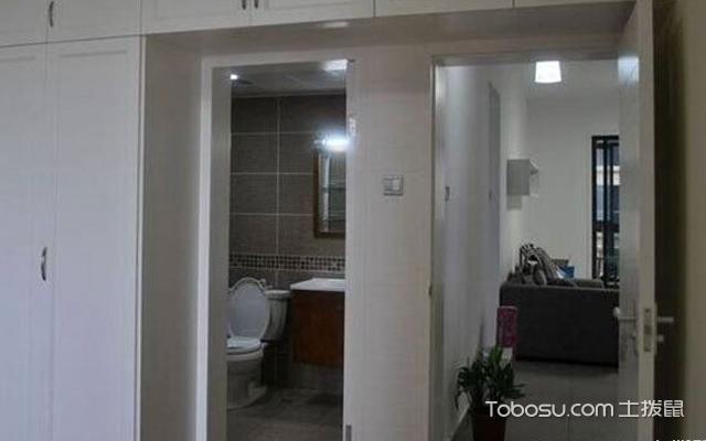 厕所隐形门效果图 技巧