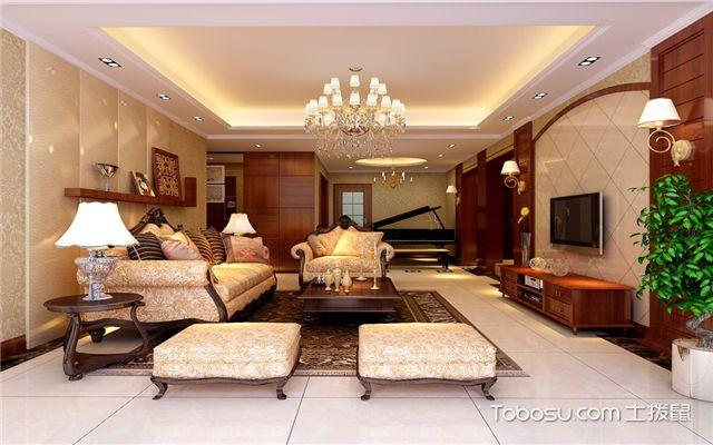 中式客厅u乐娱乐平台技巧之空间层次