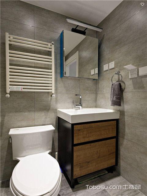 商品房设计图片大全之第二款卫生间