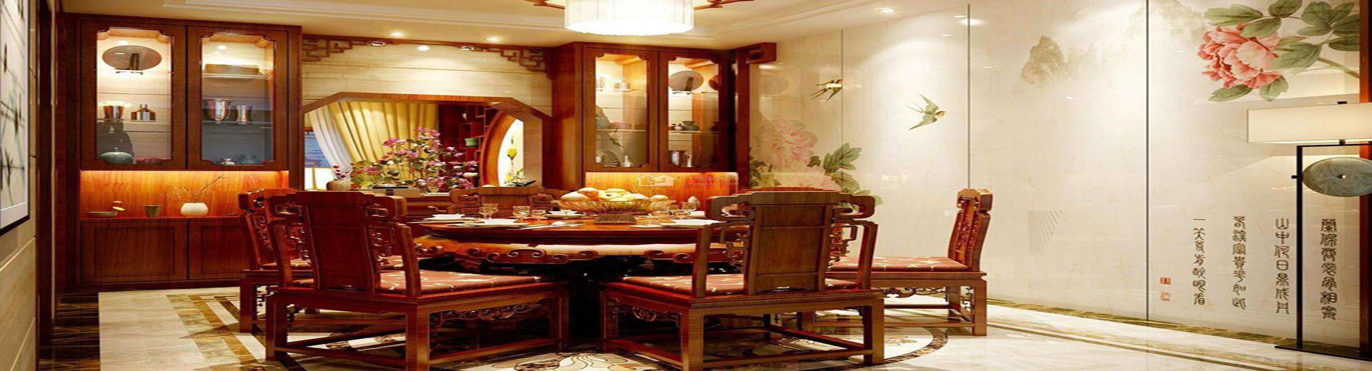 中式酒柜裝飾設計案例,現代家居中的古典之美