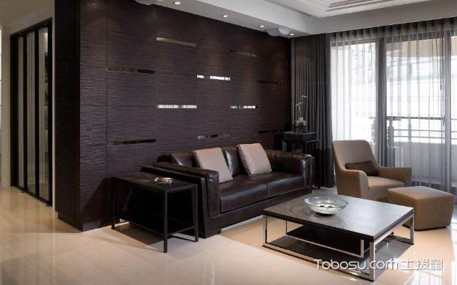 沙发背景墙案例 方法