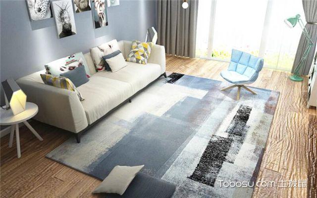 地毯如何选择之客厅地毯