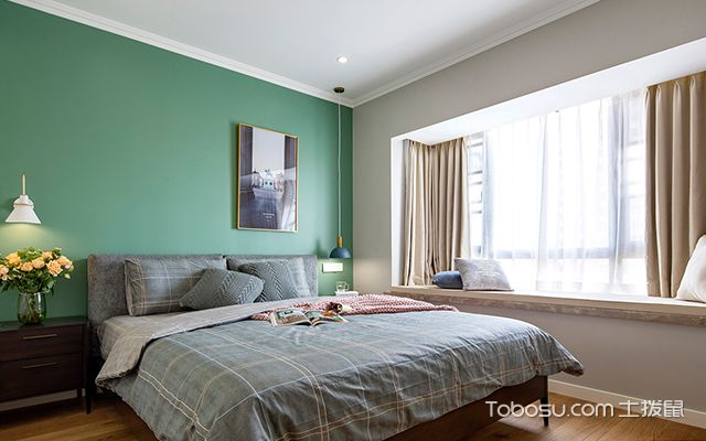 室内装修窗帘效果图大全—窗帘案例2