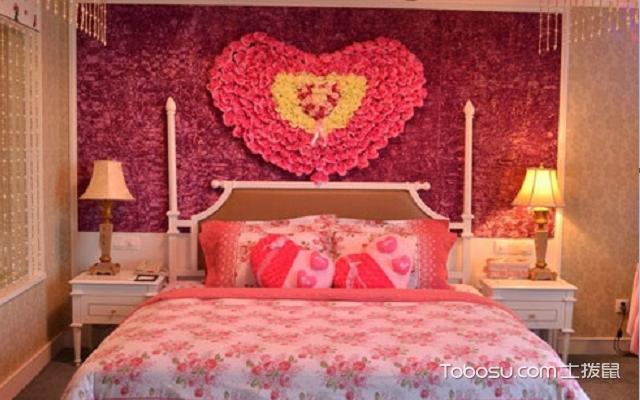婚房卧室装修效果图 风格