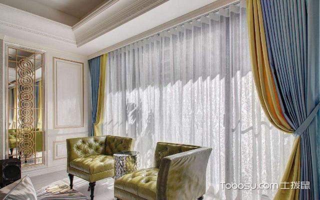 客厅适合挂什么样的窗帘 方法