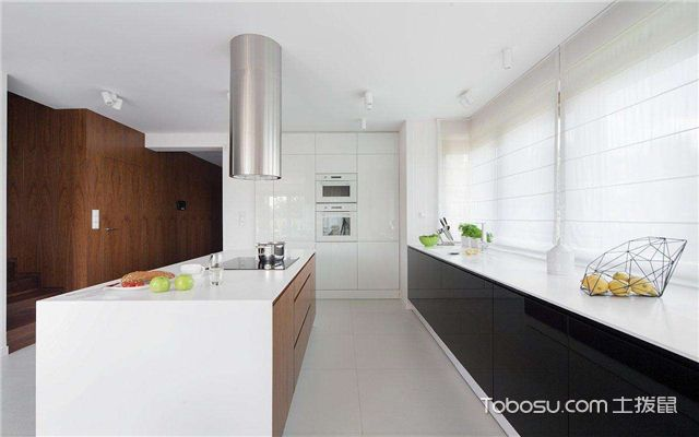 开放式厨房风水讲究之炉灶安装