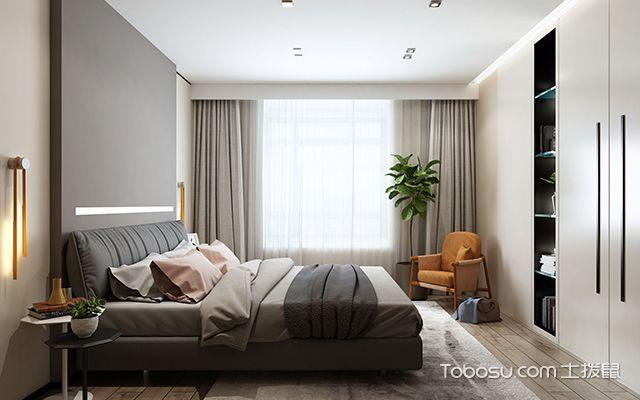 天津150平大户型装修案例—卧室