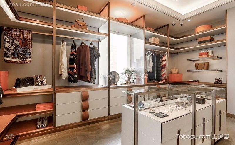 开放式衣帽间装潢设计,给衣服一个漂亮的家