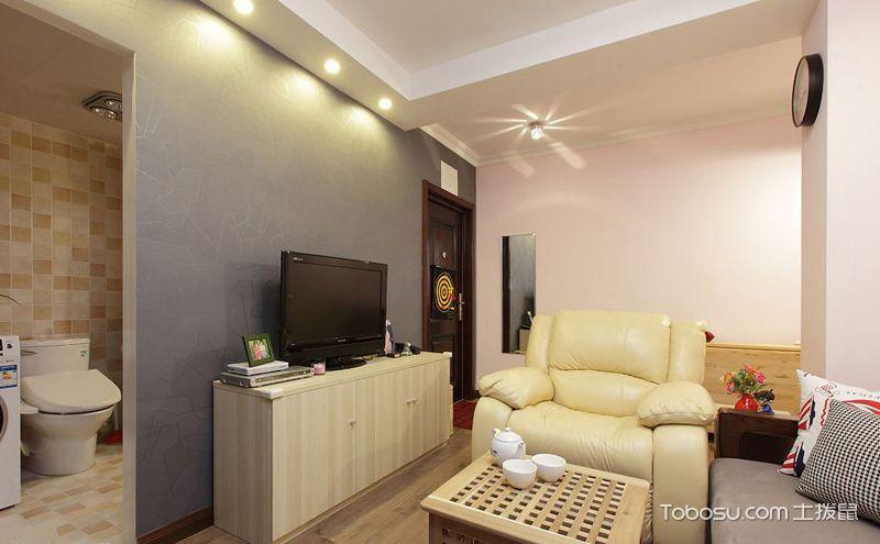 客厅卫生间隔断效果图片,让空间多点美感