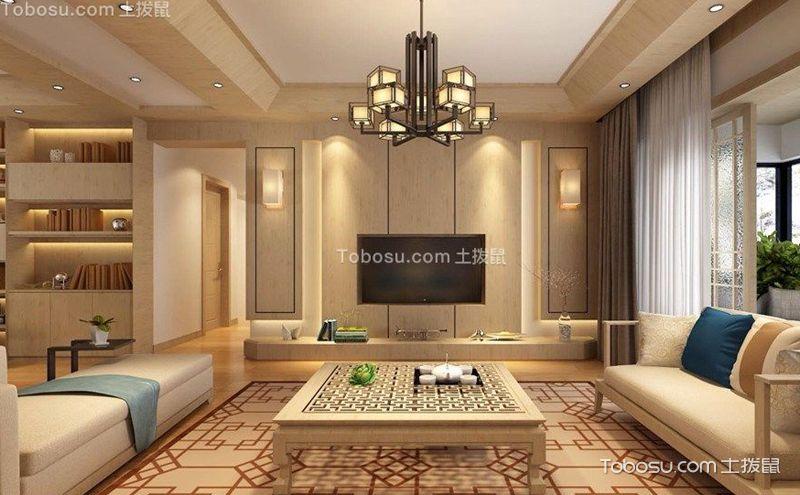 小户型日式客厅装饰设计图,平淡之中见真美