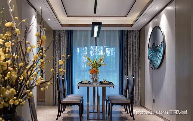 新中式风格设计案例—餐厅