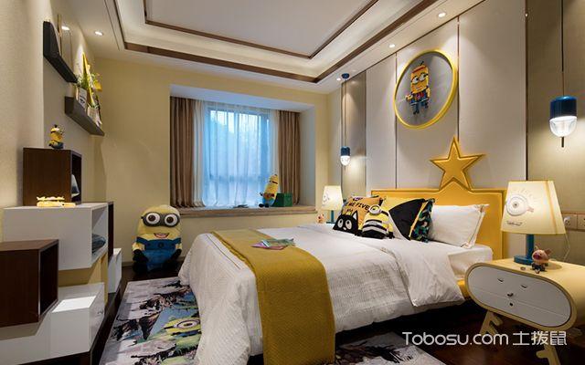 新中式风格设计案例—儿童房