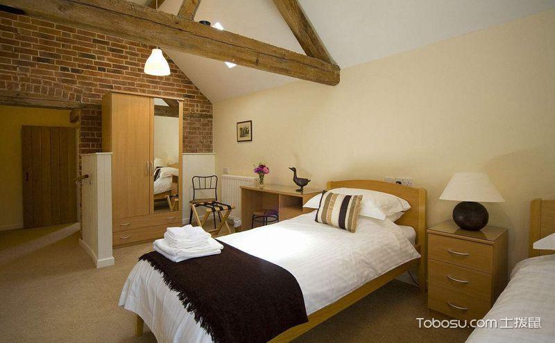 农村卧室效果图欣赏,回归自然感受淳朴之美