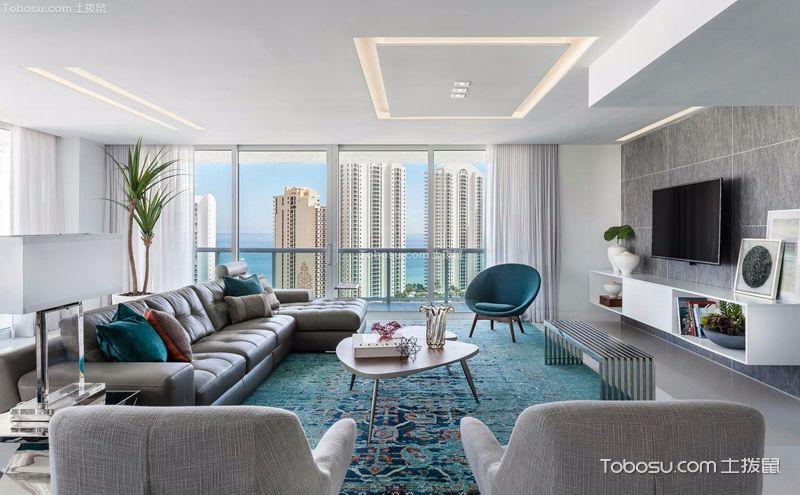 三室一厅装饰实景图,现代简约风的独特美感