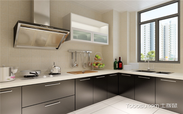 现代简约厨房如何打造