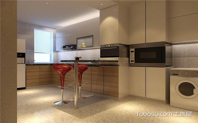 现代简约厨房如何打造之色彩搭配和谐