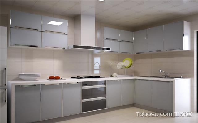 现代简约厨房如何打造之材质多样化
