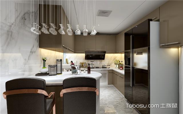 现代简约厨房如何打造之色彩