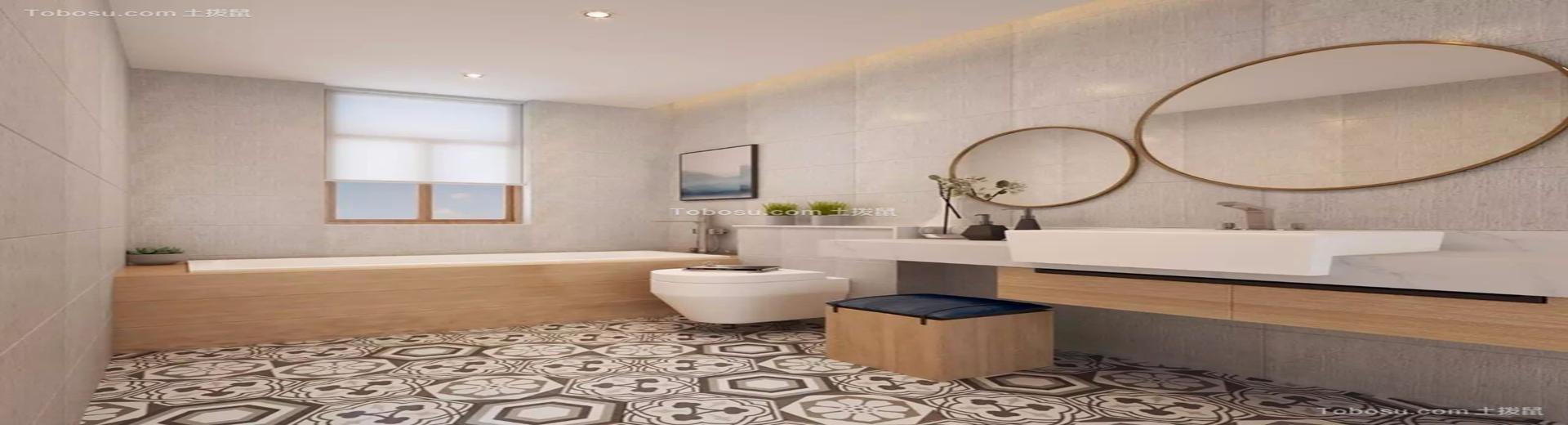 衛浴裝修設計案例,不同風格之間的大PK