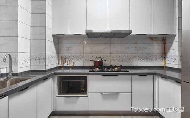 89平米北欧风格装修案例—厨房