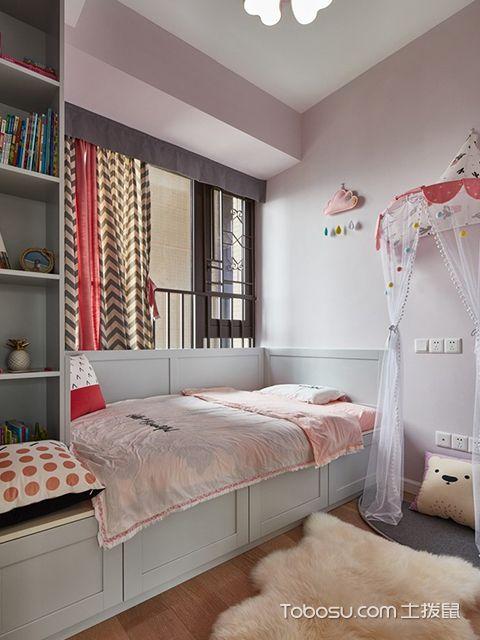 89平米北欧风格装修案例—儿童房
