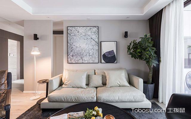 简约风格装修案例—客厅设计