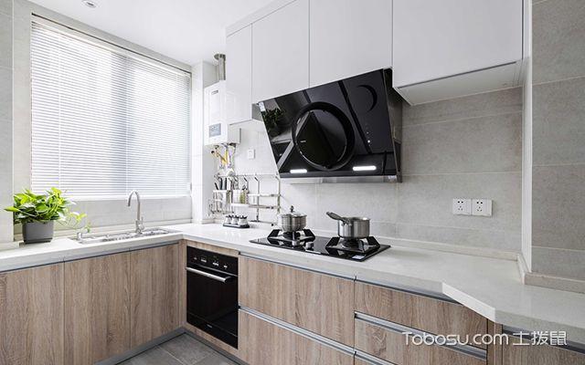 简约风格装修案例—厨房