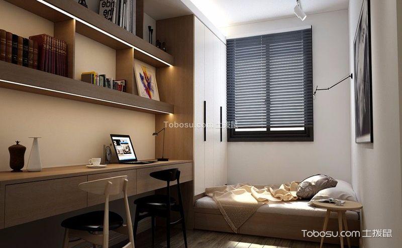 韩式书房装修效果图,静想书中慢时光