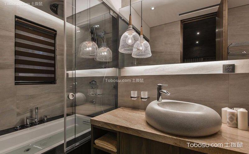 4m卫生间装潢设计,小空间也有大精彩