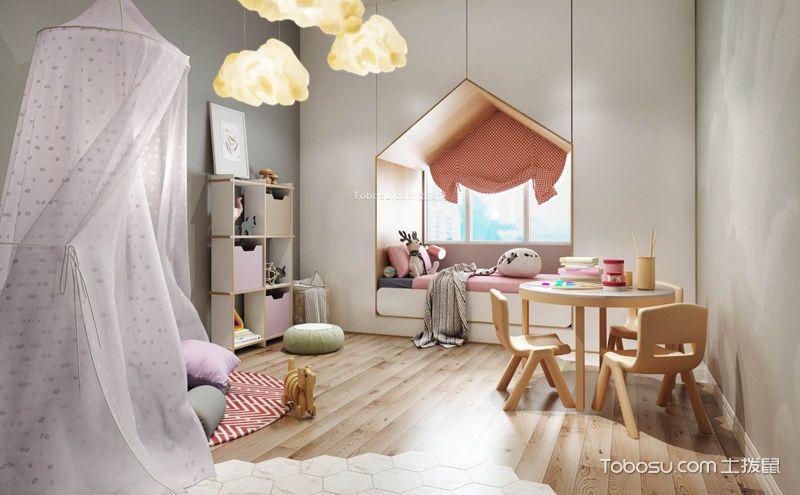 10平米儿童房装潢效果图,处处都精美养眼