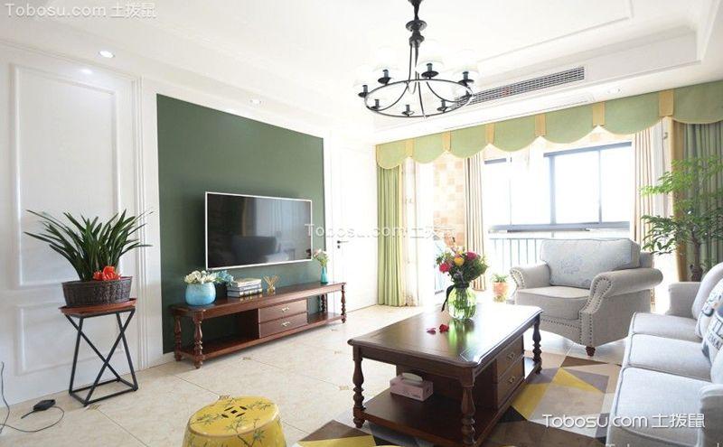 90平米客厅装潢案例,每一款都足够吸睛