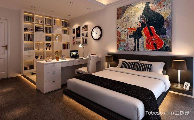 小户型榻榻米卧室设计图,这样的家更温馨