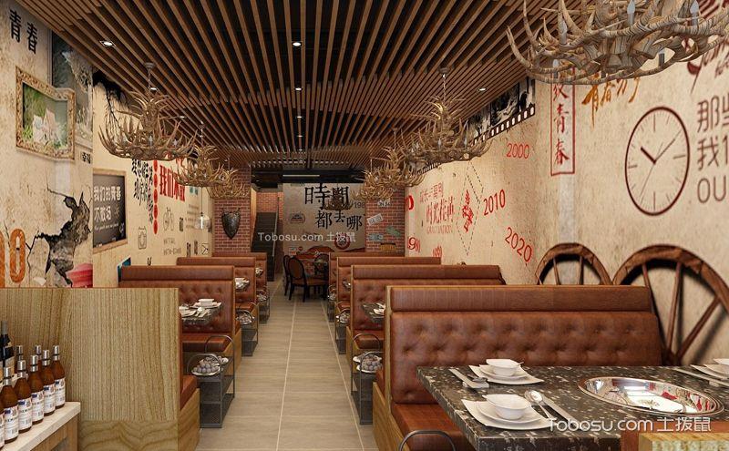 八款火锅店装潢实景图,你想走进哪一家店?