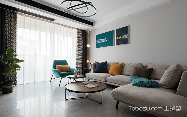 简约风格二居室—客厅2