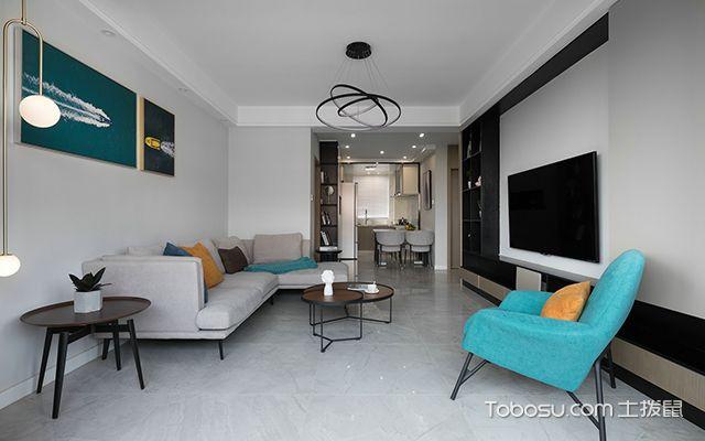 简约风格二居室—客厅3