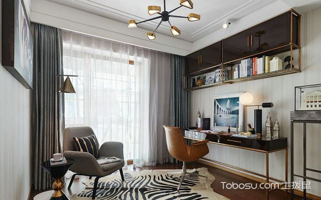 2018整体书房装修设计—案例1