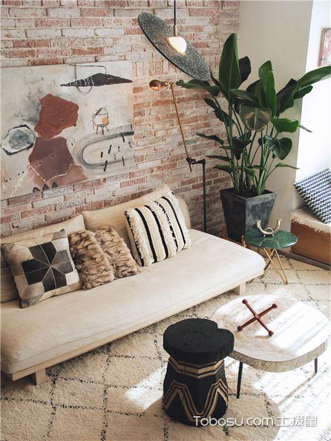 Loft复式公寓u乐娱乐平台案例-墙面
