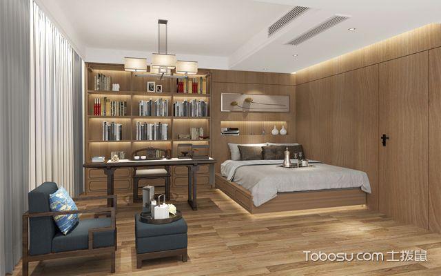 小户型书房兼客房装修效果图