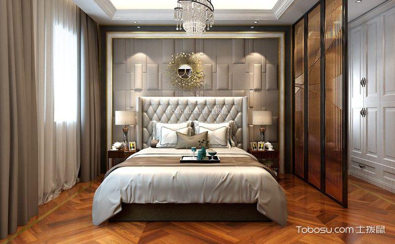 卧室墙壁衣柜效果图,百里挑一的设计