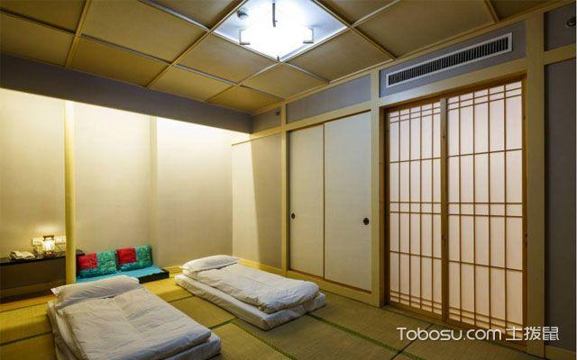 日式榻榻米卧室装修设计的技巧和注意事项