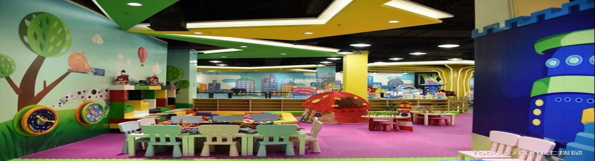 幼兒園室內設計圖片欣賞,每個空間都精彩