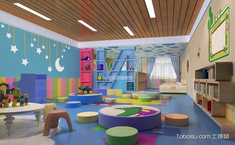 幼儿园室内设计图片欣赏,每个空间都精彩