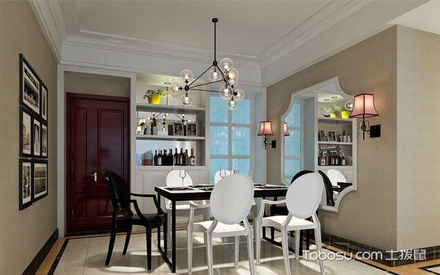 现代餐厅吊灯装修设计案例