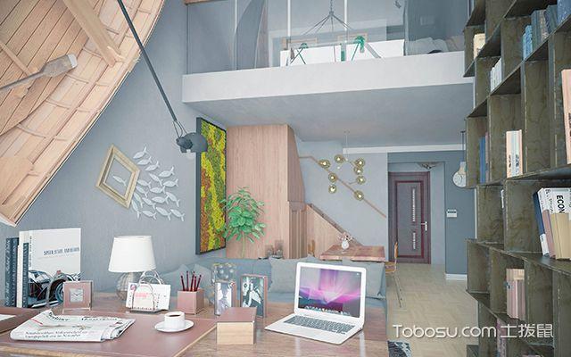 loft户型装修特点之loft户型空间利用率高