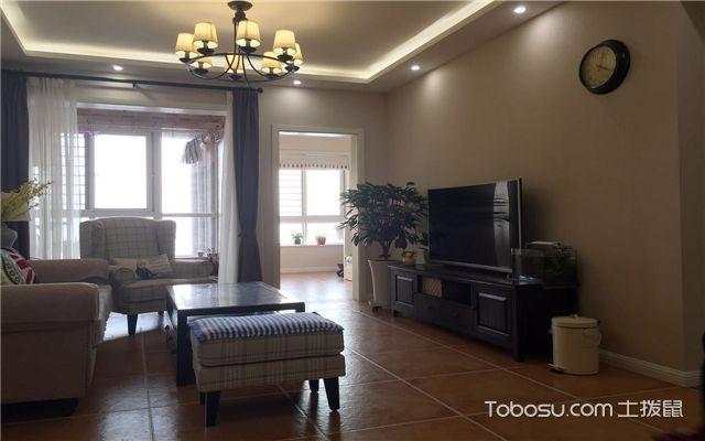 小三室装修案例之客厅