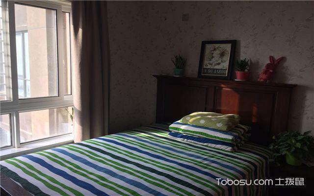 小三室装修案例之次卧